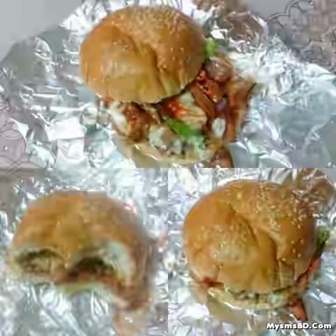 Item - Insta Naga Burger|| ১০০ টাকায় ঝাল খোর এক্সপেরিয়েন্স!!