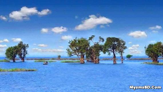 নান্দনিক সৌন্দর্যে ভরপুর সুনামগঞ্জের তাহিরপুর