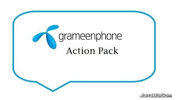 GP Action Pack   1GB 199TK   2GB 299TK