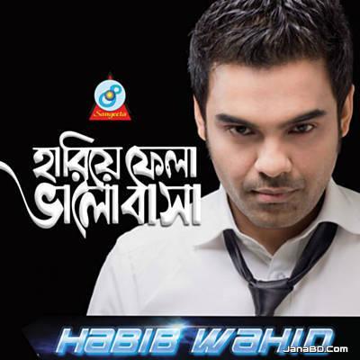 Hariye Fela Bhalobasha Lyrics–Habib Wahid