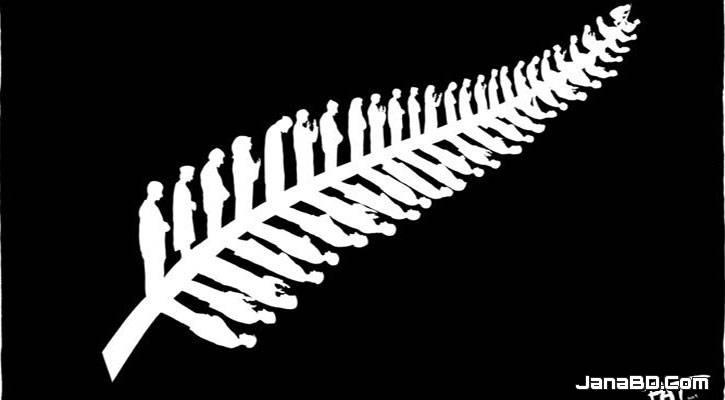 নিউজিল্যান্ডের জাতীয় প্রতীকে নামাজরত মুসল্লি, ছবি ভাইরাল