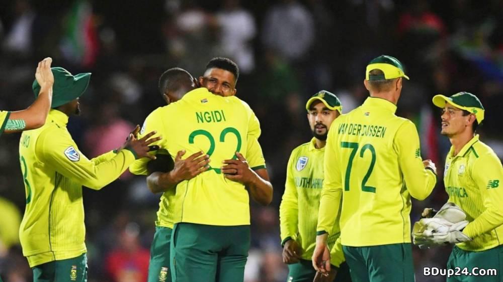 পাকিস্তানের বিপক্ষে টি-টোয়েন্টি দল ঘোষণা করলো দক্ষিণ আফ্রিকা
